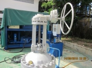 Gate Valve before Modification